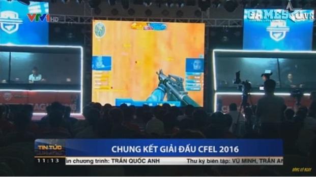 CFEL 2016 trên sóng truyền hình VTV1- Bản tin thời sự