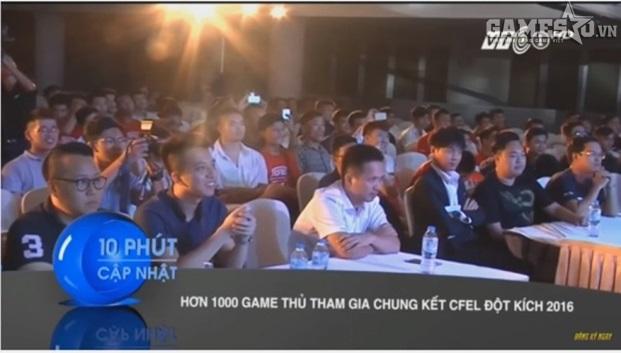 CFEL 2016 cũng được lên sóng VTC1
