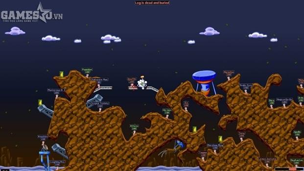 Worms đã định hình nên dòng game bắn súng tọa độ ngày nay