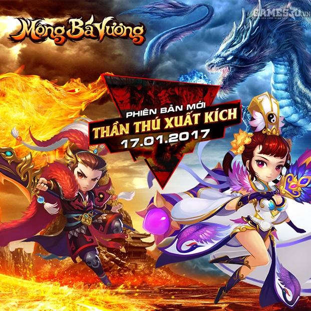 GameSao thân tặng 200 GiftCode Mộng Bá Vương mừng năm mới 'Vượt vũ môn hóa rồng' - ảnh 3