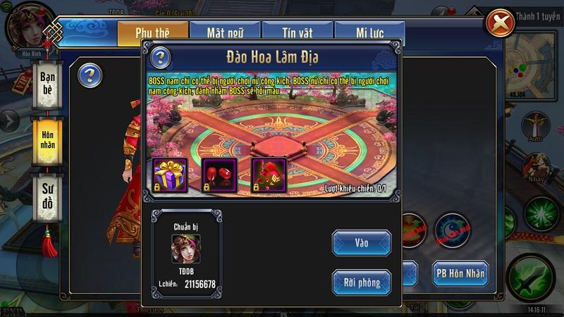 GameSao thân tặng 200 GiftCode Tứ Đại Danh Bổ mừng update đầu xuân - ảnh 1