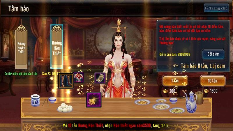 GameSao thân tặng 200 GiftCode Tứ Đại Danh Bổ mừng update đầu xuân - ảnh 8