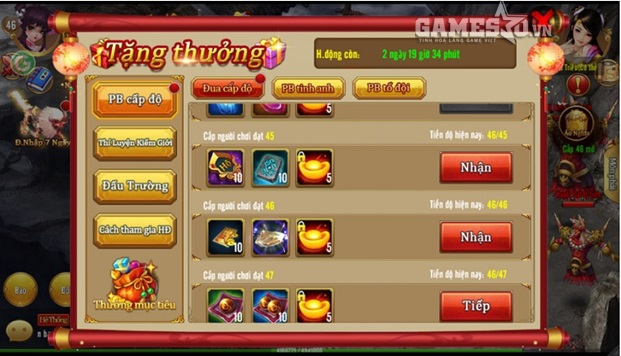 GameSao thân tặng độc giả 200 GiftCode Kiếm Thánh Mobile mừng ngày ra mắt - ảnh 3