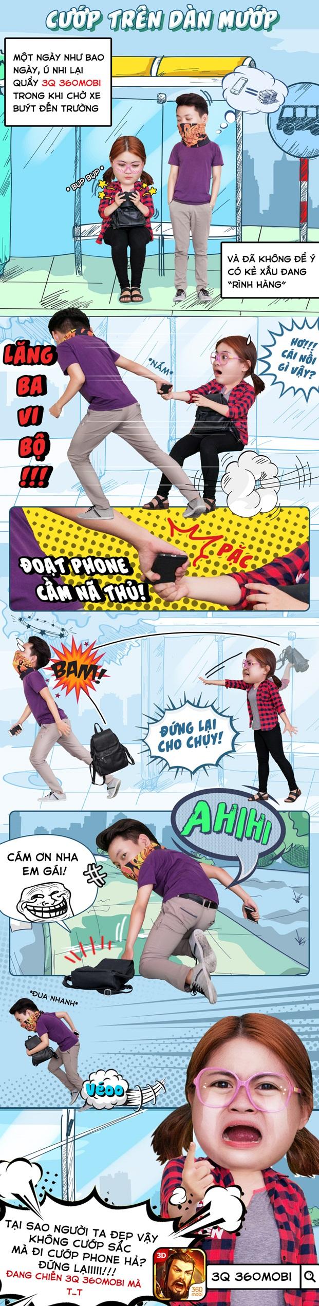 Đắng lòng khi sắc không cướp mà bị cướp mất điện thoại có cài 3Q 360mobi
