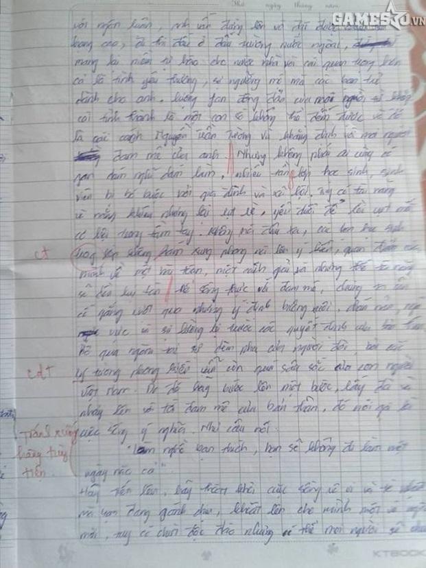 Học sinh viết bài văn về QTV  được giáo viên khen ngợi và cho điểm cao - ảnh 3