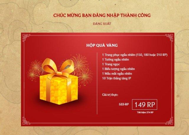 [LMHT] Hướng dẫn bạn cách nhận 3 hộp quà Vàng, Bạch Kim và Kim Cương với giá cực rẻ - ảnh 2