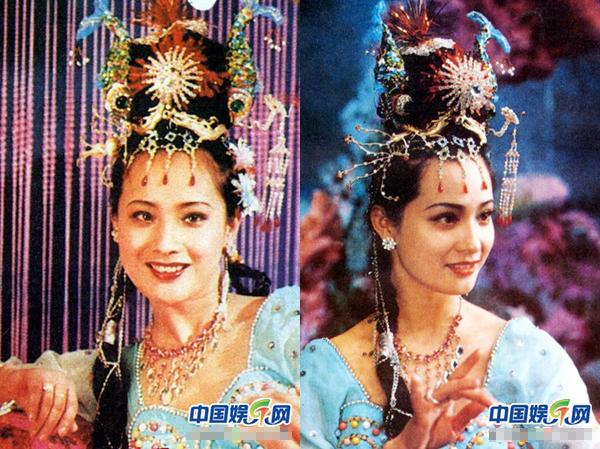 Người vào vai Vạn Thánh công chúa là Trương Thanh – được mệnh danh là Tây Thi thời hiện đại