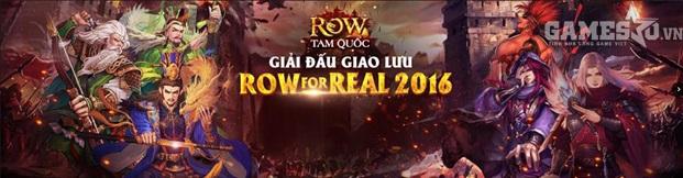 Giải đấu ROW For Real