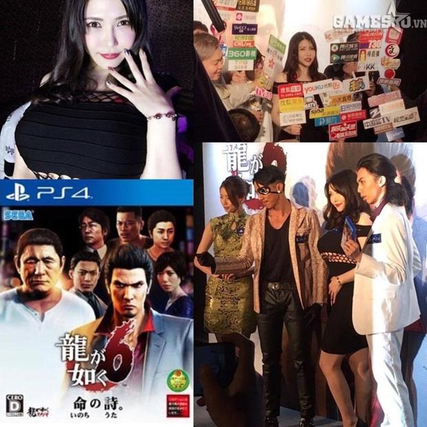 Sao JAV Anri Okita quyến rũ trong buổi quảng bá cho game Yakuza 6 - ảnh 4