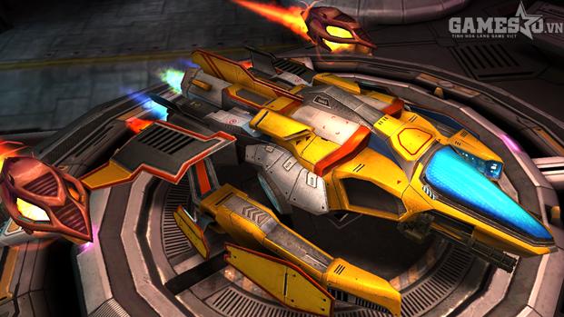 Space Racing 2 - Thú vị tựa game đua xe kết hợp bắn súng - ảnh 1