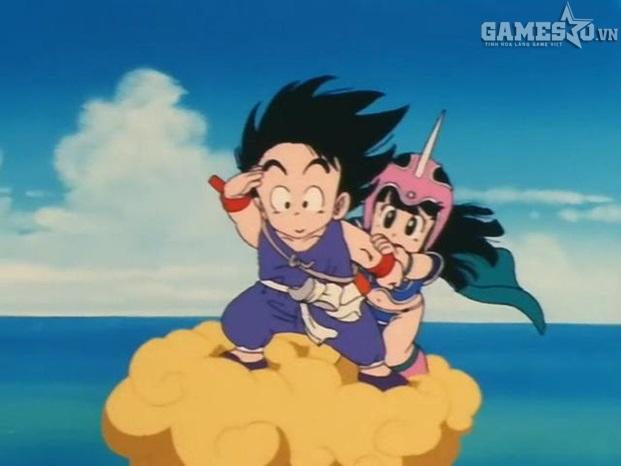 Anh chàng Son Goku của chúng ta nhờ có cân đẩu vân mới có thể bay được còn  đa phần chẳng ai có thể bay được cả.