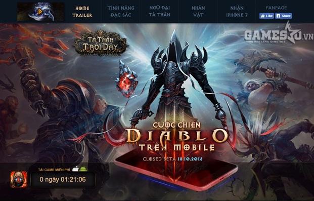Game thủ Việt chính thức được trải nghiệm sức mạnh Tà Thần từ 11h ngày 18/9/2016