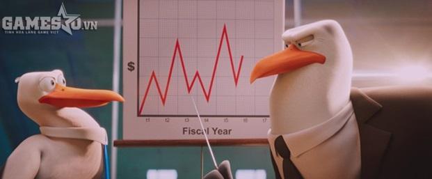 Storks mang đến góc nhìn châm biếm về thế giới công sở. Ảnh: Warner Bros.