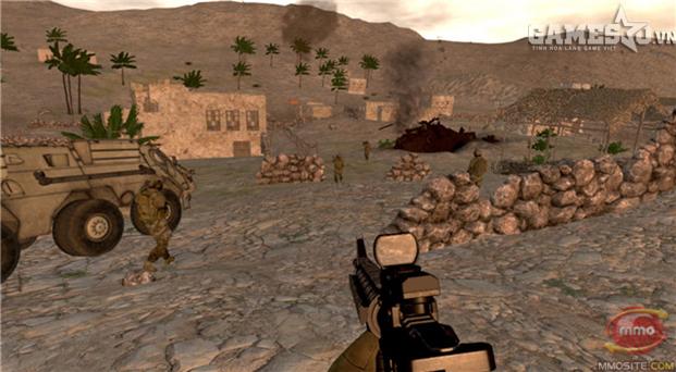 Trở thành biệt đội lính đặc nhiệm Mỹ trong game quân đội Onward - ảnh 2