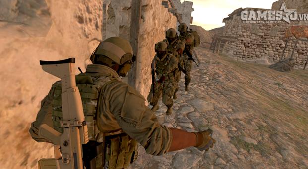 Trở thành biệt đội lính đặc nhiệm Mỹ trong game quân đội Onward - ảnh 1