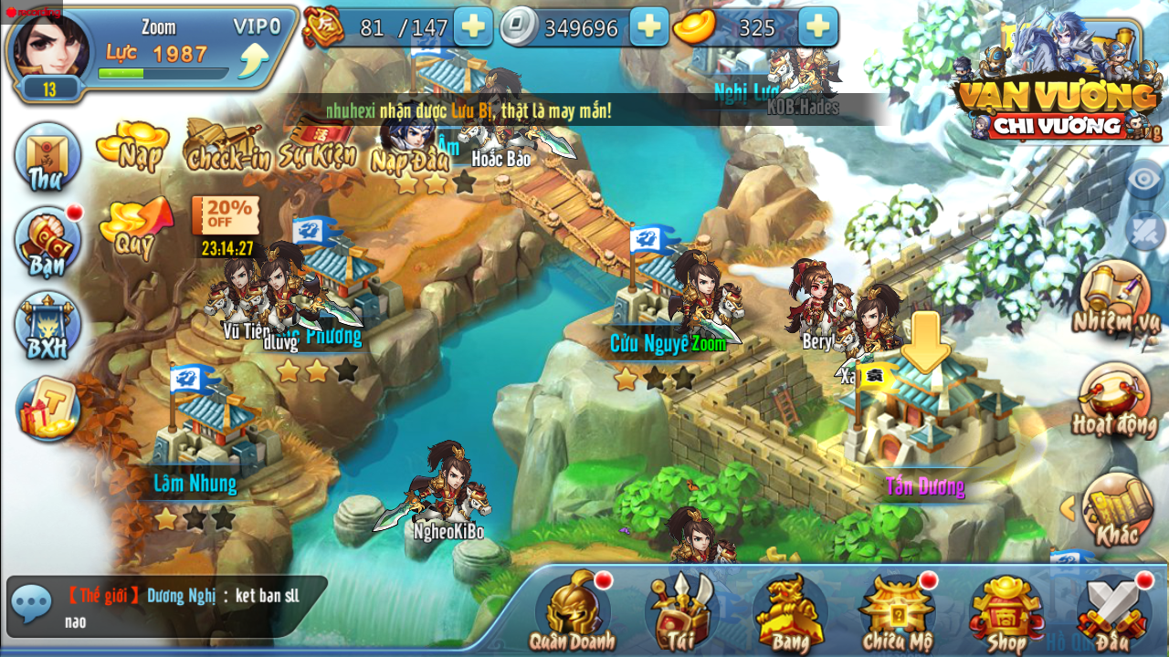 GameSao thân tặng 200 GiftCode Vạn Vương Chi Vương dành cho tân thủ - ảnh 1