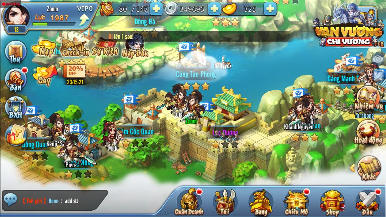 GameSao thân tặng 200 GiftCode Vạn Vương Chi Vương dành cho tân thủ - ảnh 7