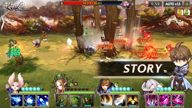 Vua Chinh Phạt (King's Raid : The Legend of Aea) chính thức chào hàng game thủ - ảnh 7