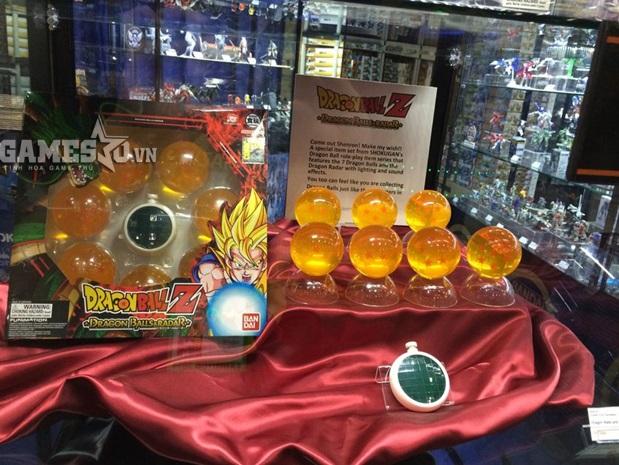 Mô hình 7 viên ngọc rồng như thật trong Dragon Ball Z.