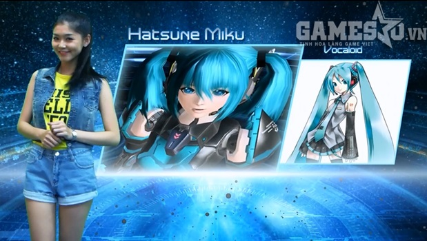 Miku – Vocaloid xuất hiện trong PSO2 ?
