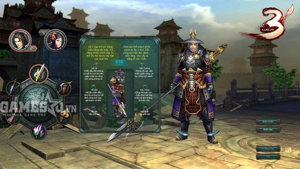 Người chơi có thể tạo nhân vật trong ngày teaser…