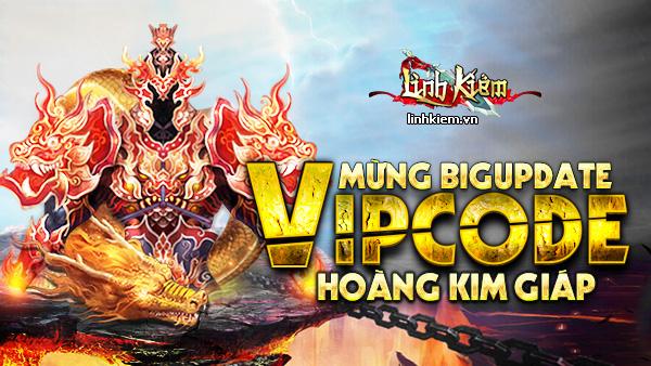 GameSao thân tặng 300 Giftcode Linh Kiếm 'Hoàng Kim Giáp'