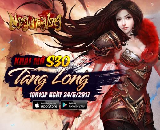GameSao thân tặng 100 GiftCode Ngọa Hổ Tàng Long mừng khai mở server mới Tàng Long