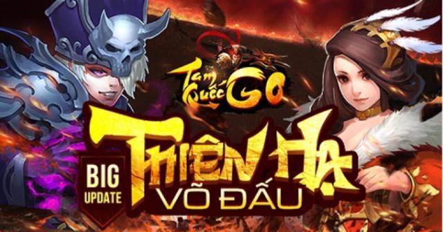 GameSao thân tặng 300 GiftCode Tam Quốc GO mừng Big Update Thiên Hạ Võ Đấu