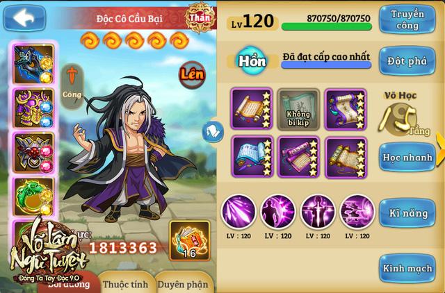 GameSao thân tặng 200 GiftCode Đông Tà Tây Độc nhân dịp ra mắt Kiếm Ma Độc Cô Cầu Bại