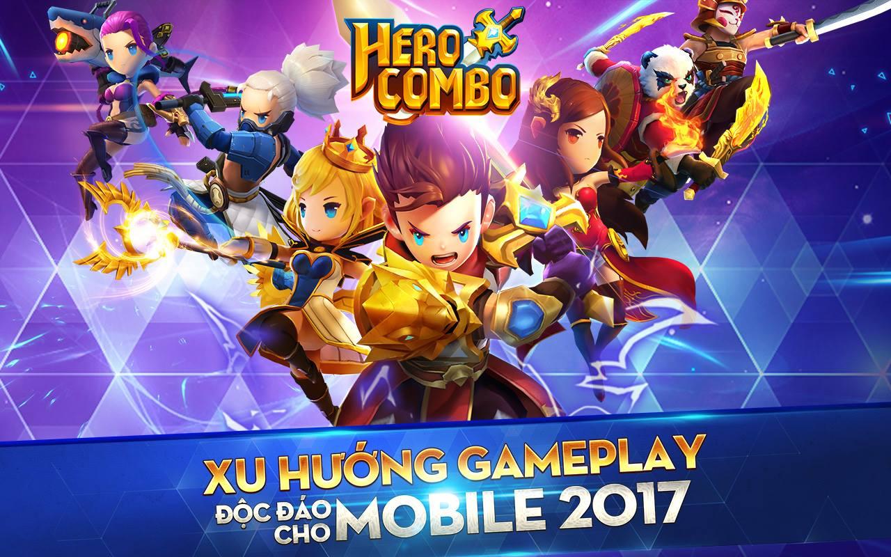 GameSao thân tặng 500 GiftCode Hero Combo, khai phá đấu trường DOTA vs LOL