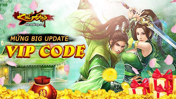 GameSao thân tặng GiftCode của webgame Kiếm Điệp