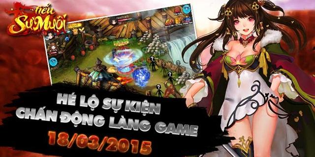 GameSao thân tặng Giftcode Tiểu Sư Muội nhân ngày ra mắt