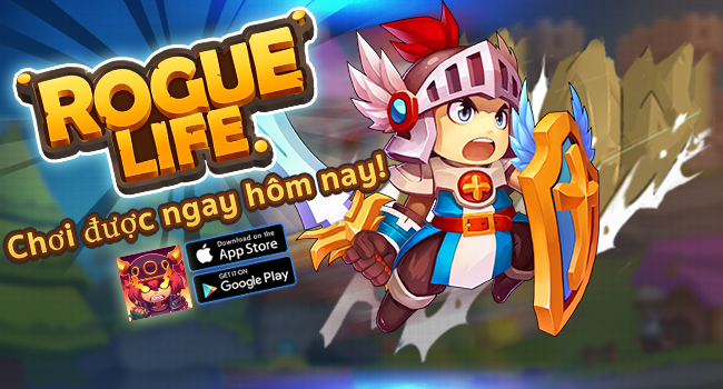 GameSao thân tặng 100 VIPCODE Rogue Life mừng game ra mắt
