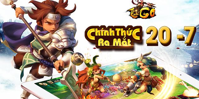 GameSao thân tặng 300 GiftCode Tam Quốc GO mừng ra mắt