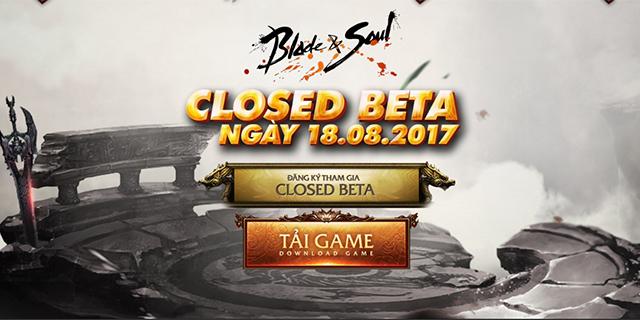 Blade and Soul sẽ bắt đầu giai đoạn Closed Beta vào ngày 18/8