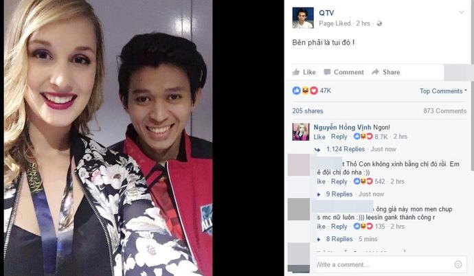 [All-Star 2016] Chụp ảnh với nữ MC xinh đẹp, QTV sẽ bị Shin đánh ghen khi về Việt Nam?