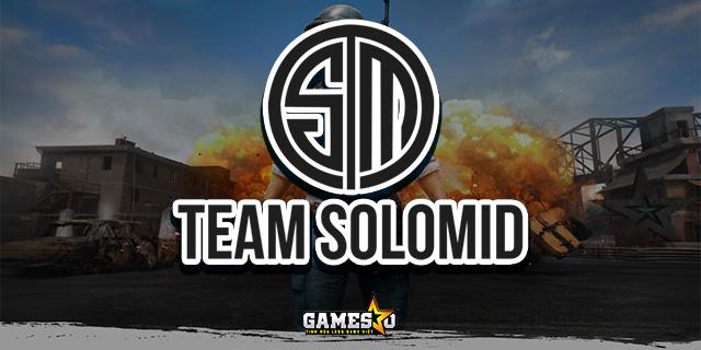 Team SoloMid hoàn thiện đội hình PlayerUnknown's Battlegrounds