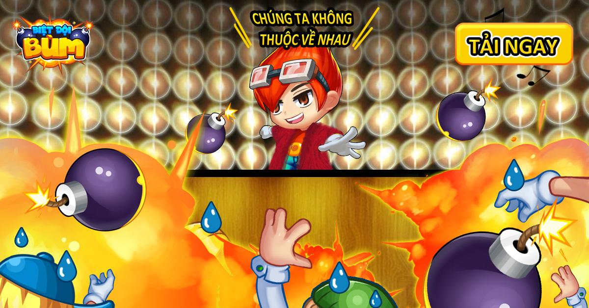 Biệt Đội Bùm - Game mobile đặt bom cực cool do người Việt sản xuất