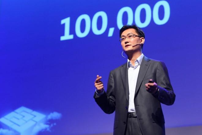 Giá trị Tencent vừa vượt mặt Facebook
