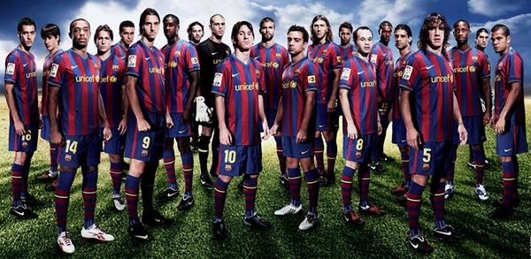 Xây dựng Dream team của các CLB ngoài đời trong FIFA Online 3 (P3): Team Barca