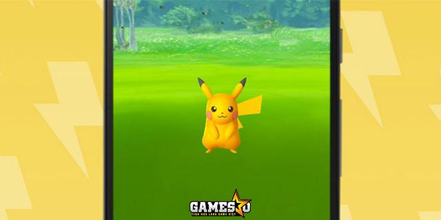 Gia đình Pikachu phát sáng đã xuất hiện trong Pokemon GO