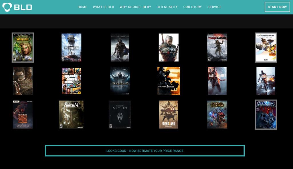 Website gợi ý lắp PC theo tên game