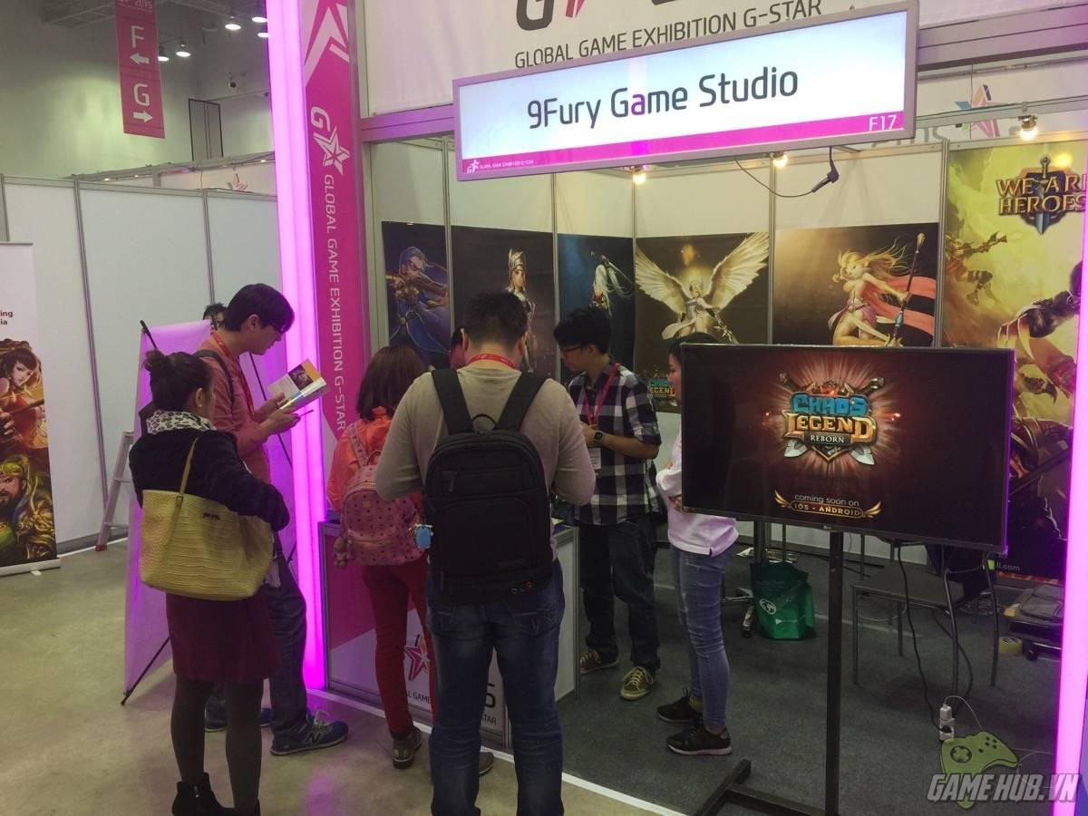 [G-star 2015] 9Fury bất ngờ tung bom tấn tại triển lãm game lớn nhất Hàn  Quốc | GameSao