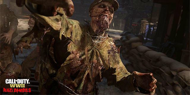 Call of Duty: WWII có chế độ chơi Nazi Zombie kinh khủng khiếp như thế này đây!