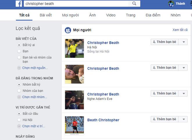 Dân mạng đua nhau lập Facebook giả mạo trọng tài trận U23 VN - Iraq