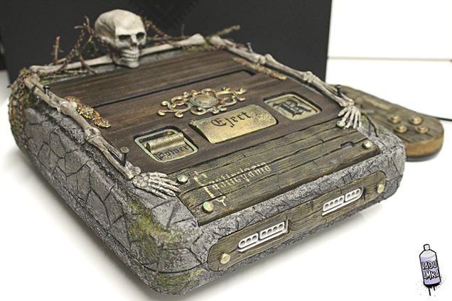 Ngắm nhìn chiếc máy điện tự 4 nút SNES được 'độ' theo phong cách Castlevania