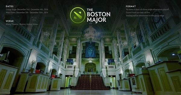 Boston Major thay đổi thể thức ngay sát ngày khai mạc