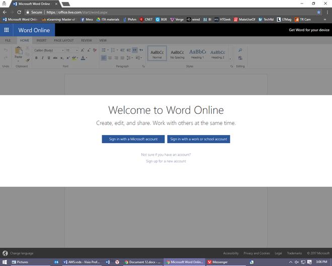 Trải nghiệm Office Online: Miễn phí, có bản quyền, không mất file và không cần cài đặt, tuyệt vời khó tả