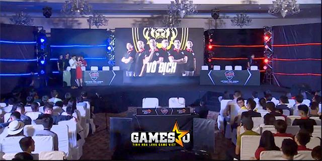 """BK Team vẫn """"vô đối"""" tại vòng Chung kết Tập Kích miền Nam – VPL 2017"""