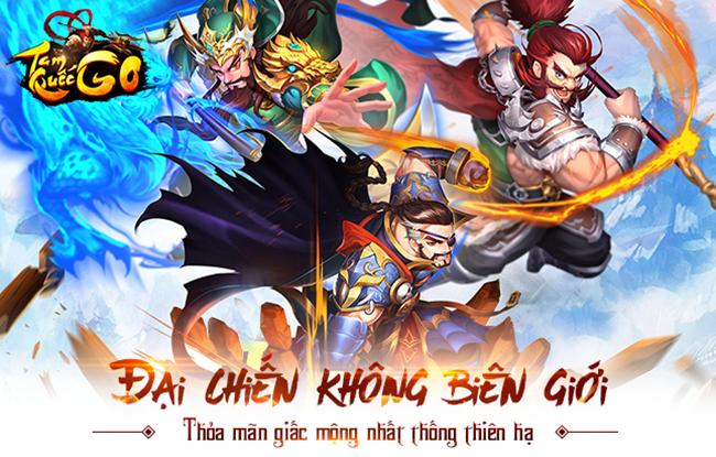 Loạn Oanh Tam Quốc Chí – Game Thẻ tướng TOP 10 Trung Quốc 2017 sắp cập bến Việt Nam với tên gọi Tam Quốc GO